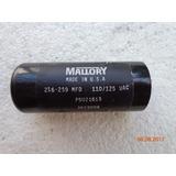 Capacitador De Arranque 216-259 Uf 110 Voltios Foto Real