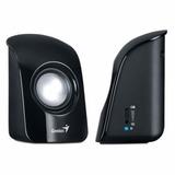 Parlantes Genius Sp-u115 Black, Conector 3.5mm, Alimentación