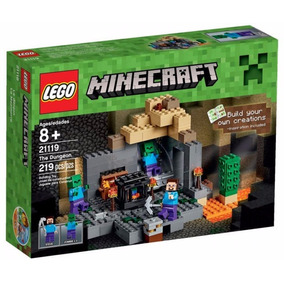 Lego Minecraft The Dungeon Masmorra 21119 219 Peças Original