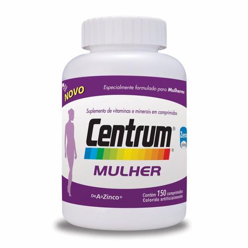 Centrum   Mulher Com 150 Comprimidos Validade 10/2019