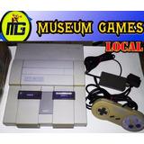 Consola Super Nintendo Funcionando + Garantia Local