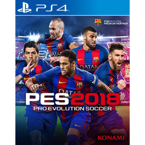 Pes 2018 Pro Evolution Soccer 18 Playstation 4 Ps4 Oferta