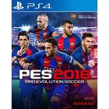 Pes 2018 Pro Evolution Soccer 18 Playstation 4 Ps4 Stock