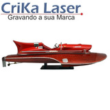 Réplica Ferrari Arno Xi (1953) C/gravação A Laser Em Placa