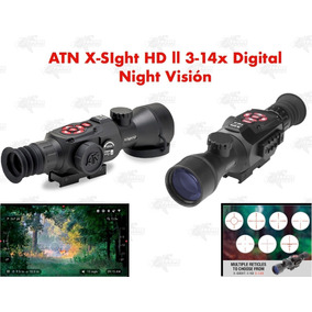 Mira Telescopica Atn X-sight Ll Hd 3-14x Vision Nocturna Xtr