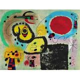 Cuadro Lámina Fine Art Joan Miró 42 X 60 Cm
