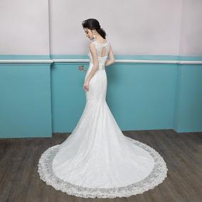 Vestido De Noivas 95662 Promoção Debutante Sereia Renda