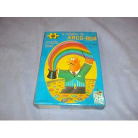 Brinquedo Antigo,puzzle Quebra Cabeça Arco-íris Da Grow.