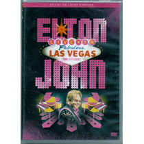 Dvd Elton John - Live In Las Vegas / The Concert - Novo***