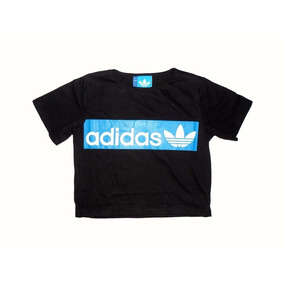 Remera Top Femenina adidas Negro
