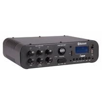 Amplificador Nca,usb E Bluetooth Ab100bt Som Ambiente 100rms