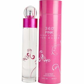 360° Pink Perry Ellis For Women 100 % Original Dama De 100ml