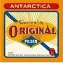 Quadro 20x30 C/moldura E Vidro+ Foto Dig. Cerveja Antárctica
