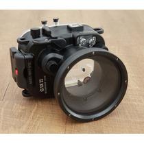 Caixa Estanque Subaquática Canon G1x Mark Ii Camera Meikon