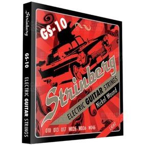 Encordoamento Guitarra Strinberg Gs10 Light 0.010