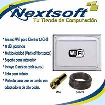 Antena Cliente 2.4ghz 17dbi Wifi Nextsoft