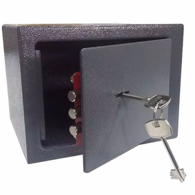 Caja Fuerte Seguridad C/ Llave Empotrar Amurar Shoppy Oferta