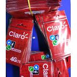 Pack X 100 Sim Card Claro Prepago Por Mayor Activadas 4g Lte