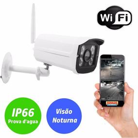 Camera De Segurança Ip Wifi Externa Prova Dagua Sem Fio Hd