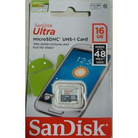 Sandisk Micro Sd De 16 Gb Clase 10