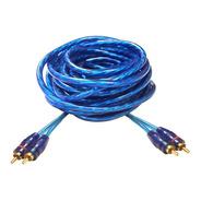 Cable Rca 5 Metros Mallado Profesional Potencia / Woofe