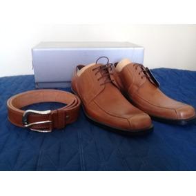Zapatos Guante Camel + Cinturón