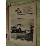 Publicidad Peugeot 404 Pick Up T4b Año 1968 X