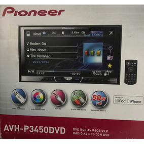 Pantalla Pioneer Radio, Dvd, Ipod, Iphone Avh-p3450