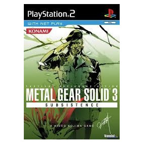 Metal Gear 3 Subsistence Ps2 Sony Playstation 2 (2 Discos)