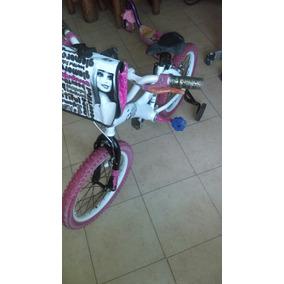 Bicicleta Barbie R 16 Niña