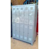 Lockers Guardarropas De 10 Puertas Metálico Reforzado.