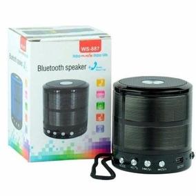 Mini Caixa Caixinha Som Portátil Bluetooth Mp3 Fm Sd Usb Aux
