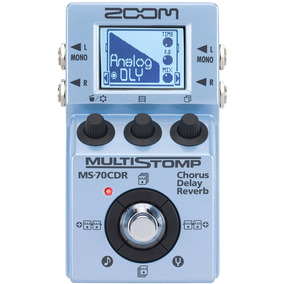 Pedal Zoom Ms-70cdr Multistomp Ms 70 Cdr Com Nota Fiscal