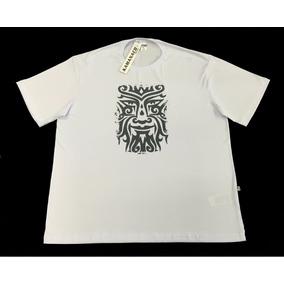 Camiseta Masculina Estampada Plus Size Pequeno Defeito Frete