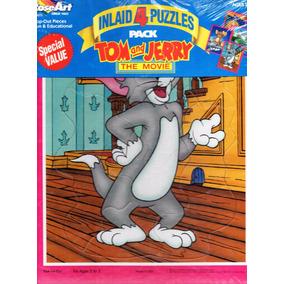 Rompecabezas Tom And Jerry - Cuatro Figuras Diferentes