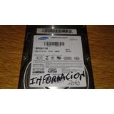 Disco Rigido Samsung De 40gb Sp0411n - Funciona Perfecto.-