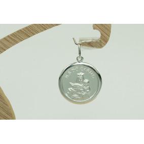 Pingente Medalha Nossa Senhora Do Carmo (m3r) Prata 925
