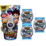 Yo-kai Watch Yokai Reloj + 3 Paquetes Con Medallas Hasbro