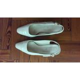 Zapatos Guillermina Talle 39 Guido Gabrielli Color Natural
