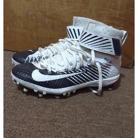 d4fbb74482517 Usado - Estado De México · Tachos Cleats Nike Blanco Con Azul Football  Americano