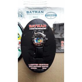 Sensacional Reloj Fossil Batman Y Robin Edición Limitada