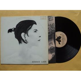 Marina Lima- Lp O Chamado- 1993- Original- 2 Encartes Zerado