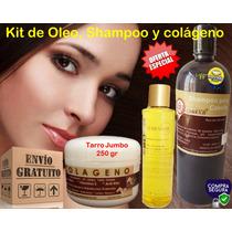 Kit Oleo, Shampoo Y Colageno Yeguada La Reserva Envio Gratis