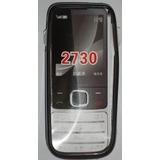 Silicón Negro Nokia 2730 Protector Celulares 3g Móvil Oferta