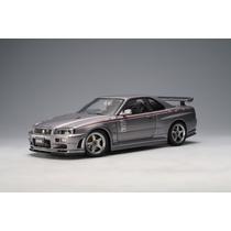 Nissan Skyline Gt-r (r34) Nismo Auto A Escala De Colección