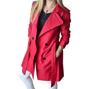 Piloto Trench Impermeable Mujer The Big Shop