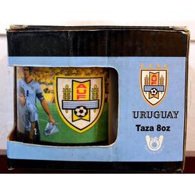 Xícara De Louça Oficial Da Seleção Do Uruguay - Taza 8oz