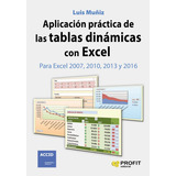 Aplicacion Practica De Las Tablas Dinamicas Con Excel Muñiz
