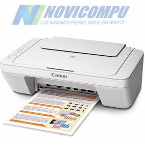 Impresora Multifunción Copia Scanner Canon Mg2522
