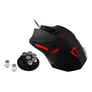 Mouse Gamer Msi Interceptor Ds B1 1600dpi Sistema De Pesas